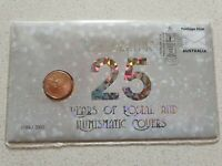 2019 $1 PNC..CELEBRATING 25 YEARS OF POSTAL AND NUMISMATIC C