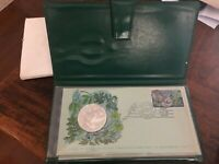 1977 FIRST DAY COVER OF THE COOK ISLANDS   PROOF SET COIN AN