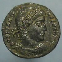 HIGH GRADE CONSTANTINE THE GREAT GLORIA EXERCITVS AE 3/4 FROM ANTIOCH