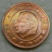 BELGIUM 2 EURO CENT 2006     MINT ERROR