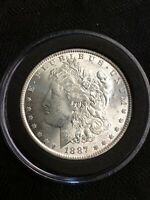 1897-P MORGAN SILVER ONE DOLLAR VAM DOUBLED RIGHT STARS VARIETY COIN