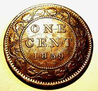 1 CENT 1859    PC59 244   VF  SCRATCHED          ADD LOTS $0.25 EA.