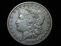 1895-S $1 MORGAN DOLLAR EXTRA FINE , GREAT BETTER DATE