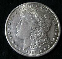1889-S SAN FRANCISCO MINT $1 MORGAN SILVER DOLLAR AN12
