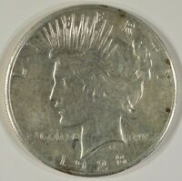 1928 PEACE SILVER DOLLAR $1 XF EF EXTREMELY FINE DETAILS CLE