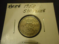 1952 ENGLISH SIX PENCE COIN      DATE    > WHY PAY HIGH UK S