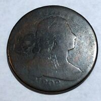 1802 DRAPED BUST LARGE CENT. AG LOTQ4