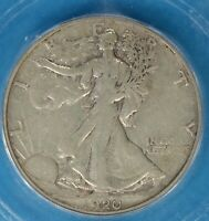 1920-S WALKING LIBERTY HALF DOLLAR ICG EXTRA FINE 40- TOUGHER DATE/MINT,  EXAMPLE