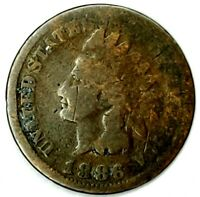 1886-P TYPE-1 1C INDIAN HEAD CENT 19LAS0818 50 CENTS SHIPPING