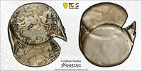 1946 LUXEMBOURG 50 FR PCGS MINT STATE 64 DOUBLE STRUCK-BOTH O/C BROCKAGE & UNIFACE REV