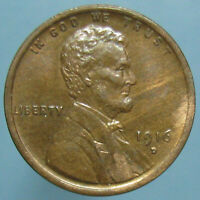 SHARP CHOICE UNCIRCULATED 1916 D LINCOLN CENT