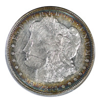 1885-S MORGAN DOLLAR ABOUT UNCIRCULATED