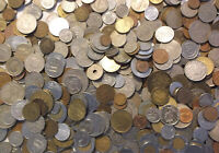 5.5  LBS POUNDS LOT OF WORLD FOREIGN COINS COLLECTION MIXED
