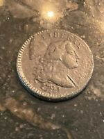 1794 FLOWING HAIR LARGE CENT COIN 1C   HEAD OF '94 NICE FEATURES