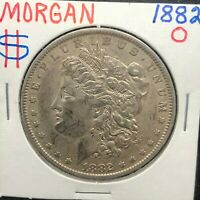 1882-0  MORGAN SILVER DOLLAR