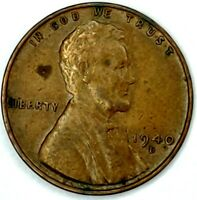 1940-D 1C LINCOLN WHEAT CENT 19LT0921-1 50 CENTS SHIPPING