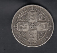 1878 GREAT BRITAIN SILVER FLORIN