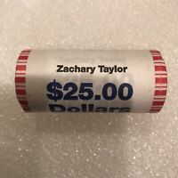 2009 US MINT ZACHARY TAYLOR PRESIDENTIAL DOLLAR COIN ROLL $25 SEALED UNOPENED