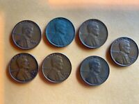 7 1928 TO 1945 S LINCOLN WHEAT CENT