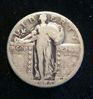 1926 D SILVER STANDING LIBERTY QUARTER G-VG BUY IT NOW OR OFFER