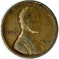 1913-P 1C LINCOLN WHEAT CENT 19LT1114 50 CENTS SHIPPING