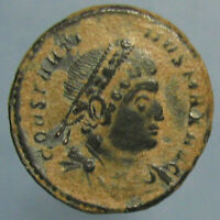 CONSTANTINE THE GREAT GLORIA EXERCITVS AE 3 FROM TRIER