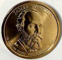 2011-D PRESIDENTIAL DOLLAR JAMES GARFIELD BU LRR 50 CENTS SHIPPING