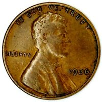 1936-P 1C LINCOLN WHEAT CENT 19CT1202 50 CENTS SHIPPING