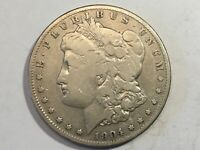 1904S VG MORGAN SILVER DOLLAR DATE FROM ALBUM COLLECTION CONDITION M12