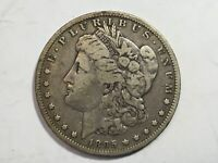 1895-O EXTRA FINE   MORGAN SILVER DOLLAR DATE FROM ALBUM COLLECTION M12