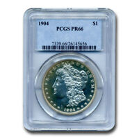 1904 MORGAN DOLLAR PR-66 PCGS - SKU197240
