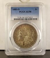 1881 O VAM 1D- PCGS AU 58 -VSS LABEL- HIT LIST & WOW SET