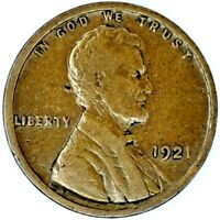 1921-P 1C LINCOLN WHEAT CENT 17LOR2708-2 50 CENTS SHIPPING