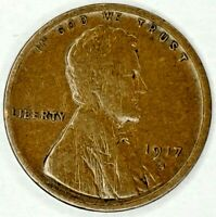 1917-S 1C LINCOLN WHEAT CENT 19UC1128 50 CENTS SHIPPING