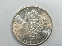 1878-S PL MORGAN SILVER DOLLAR DATE UNC FROM ALBUM COLLECTION MS CONDITION M13