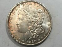 1888-P MORGAN SILVER DOLLAR DATE UNC FROM ALBUM COLLECTION MS CONDITION M13