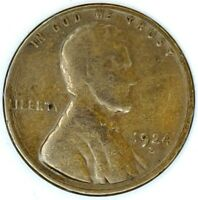 1924-S 1C LINCOLN WHEAT CENT 17RR2611-2 50 CENTS SHIPPING