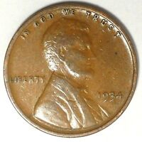 1934-P 1C LINCOLN WHEAT CENT 17SR1612-3 50 CENTS SHIPPING