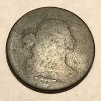 1803 DRAPED BUST LARGE CENT. POOR, HEAVY WEAR, BARELY IDENTIFIABLE. LOTNR1