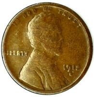 1912-S 1C LINCOLN WHEAT CENT 20LOCT0426 50 CENTS SHIPPING
