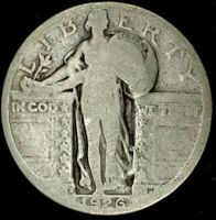 1926-S 25C STANDING LIBERTY QUARTER 90 SILVER 20OAS0423 50 CENTS SHIPPING