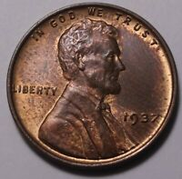 1937 LINCOLN CENT 7439