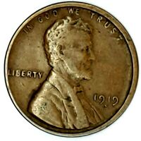 1919-S 1C LINCOLN WHEAT CENT 17RR0607-3 50 CENTS SHIPPING