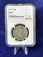 1919  WALKING LIBERTY HALF DOLLAR 50C