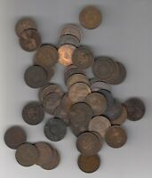 1861 1936  CANADA PROVINCES LARGES CENTS   LOT OF 50