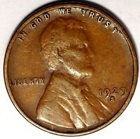 1929-S 1C LINCOLN WHEAT CENT 17LAL0107-2 50 CENTS SHIPPING