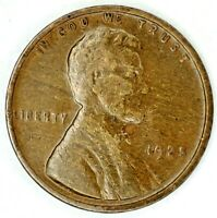 1925-P 1C LINCOLN WHEAT CENT 20LOS0124 50 CENTS SHIPPING