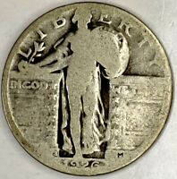 1926-S 25C STANDING LIBERTY QUARTER 90 SILVER 19UCU1124 50 CENTS SHIPPING