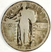 1926-S 25C STANDING LIBERTY QUARTER 90 SILVER 19UHU1124 50 CENTS SHIPPING