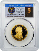 2011-S RUTHERFORD B. HAYES PRESIDENTIAL DOLLAR PCGS PR70 DCAM